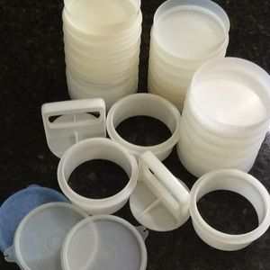 Other - Tupperware Hamburger Patty Container - 29 pcs